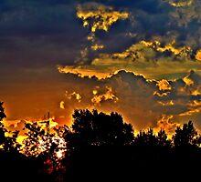 Sunset in Denver by Jackson Killion