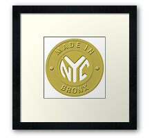 Made In New York Bronx Framed Print