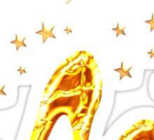 GLAMOROUS GOLD 60TH BIRTHDAY Sticker
