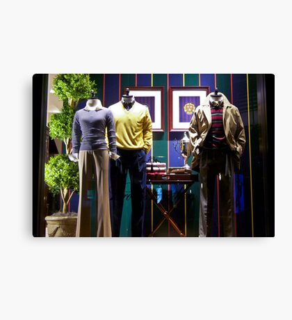 Ralph Lauren Shop Canvas Print