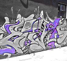 Street art In Denver by Jackson Killion