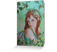 Spring elf awakening Greeting Card