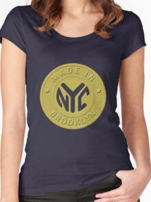 Made In New York Brooklyn Women's Fitted Scoop T-Shirt