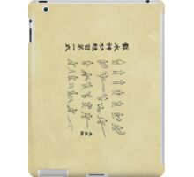 Avatar the Last Airbender - Water Scroll Poster iPad Case/Skin
