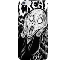 Metal Scream iPhone Case/Skin