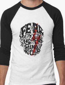Fear is the Mind Killer Men's Baseball ¾ T-Shirt