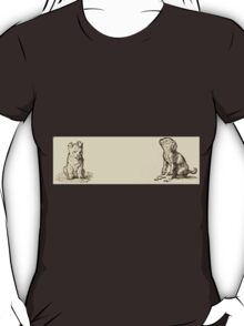 Five Mice in a Mouse Trap Laura Elisabeth Howe Richards and Kate Greenaway 1881 0148 Puppy T-Shirt