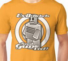 Evil Robots Unisex T-Shirt