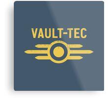 Fallout Vault Tec Metal Print