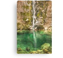 Savica Waterfall, Bohinj, Slovenia. Canvas Print