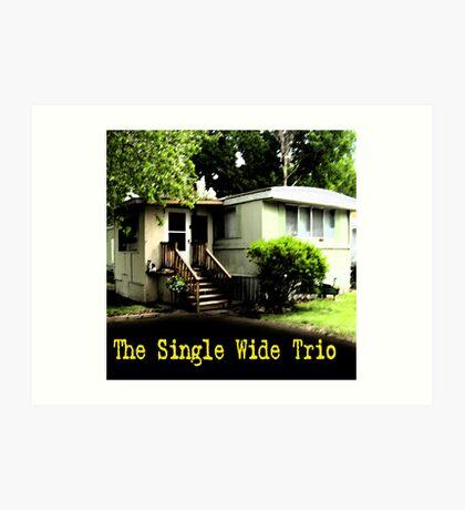 CD Cover ~ The Single Wide Trio Art Print