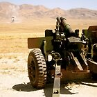 155mm Howitzer- Marking targets in Fallon, NV by wanderlust54