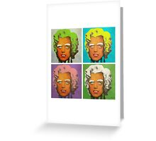 Oompa Loompa set of 4 Greeting Card