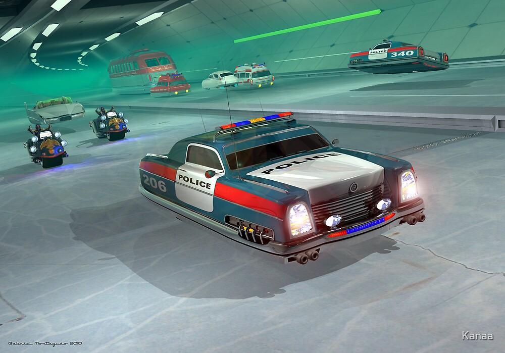 Fringe Police Cruiser by Kanaa