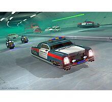 Fringe Police Cruiser Photographic Print