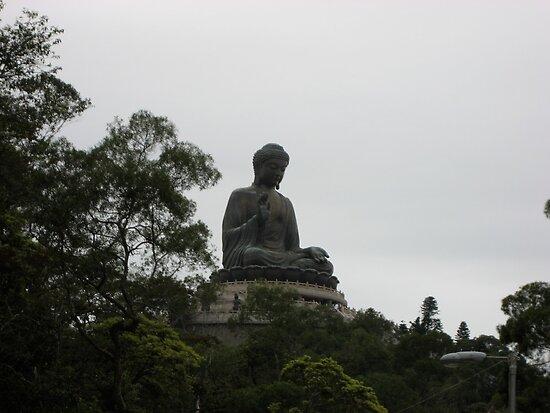 Buddha- Lantau Island Hong Kong by wanderlust54
