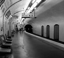 Paris Metro by DavePlatt