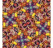 Colorful Ornament Pattern Photographic Print