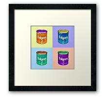 In Loving Memory of Donny Who Loved Bowling set of 4 pop art Framed Print
