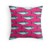 Tasty mackerel pattern Throw Pillow