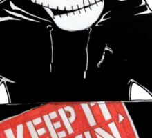 Keep It Movin' Sticker