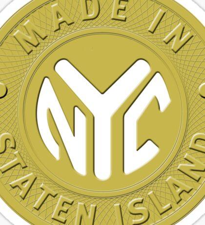 Made In New York Staten Island Sticker