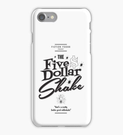 Pulp Fiction - Five Dollar Shake iPhone Case/Skin