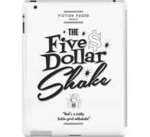Pulp Fiction - Five Dollar Shake iPad Case/Skin