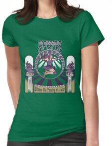 Roller Derby Nouveau: The Massacre of Spring (English) Womens Fitted T-Shirt