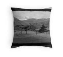 View in the South Island Throw Pillow