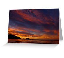 Tasmanian Sunrise Greeting Card