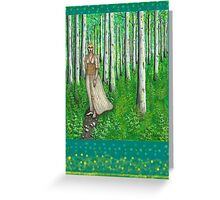 Spring Spectre Greeting Card
