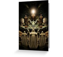 Divine Light of the World Greeting Card