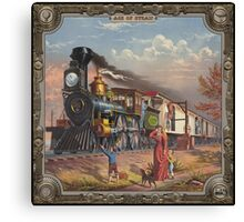 Locomotive. Age of Steam #016 Canvas Print