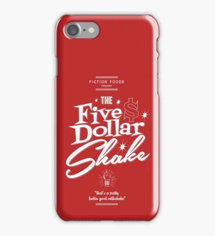 Pulp Fiction - Five Dollar Shake white iPhone Case/Skin
