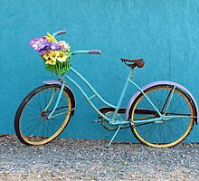 Antique Bicycle by Cynthia48