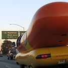 Oscar Meyer Wienermobile on the freeway by jsmusic