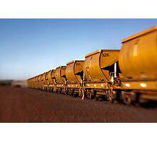 Iron Ore Wagons Photographic Print