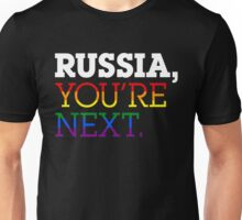 Russia, You're Next Unisex T-Shirt