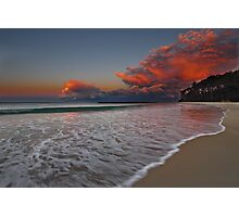 South End, Mollymook Beach, South Coast, NSW Photographic Print