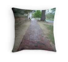 Williamsburg Walk Throw Pillow
