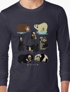 Bears of the World Long Sleeve T-Shirt