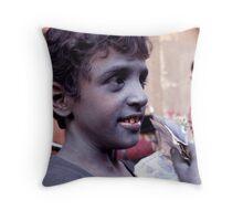 Aluminum Child Throw Pillow