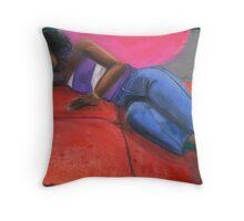 Reclining Throw Pillow