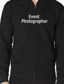 Event Photographer Zipped Hoodie