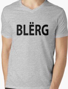 """""""BLERG"""" Liz Lemon. Mens V-Neck T-Shirt"""