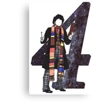 The 4th Doctor. Canvas Print
