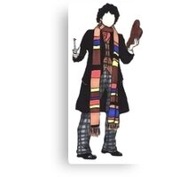4th Doctor. Canvas Print