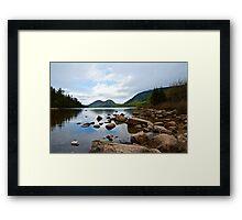 Jordan Lake House Framed Print