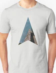 all the way down and into the blue Unisex T-Shirt